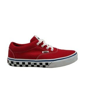 Vans Unisex Kids Off The Hall Check Sidewall Shoe
